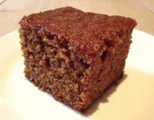 Rich ginger cake