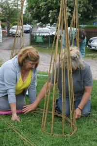 Willow Weaving @ Meadow Road Allotments