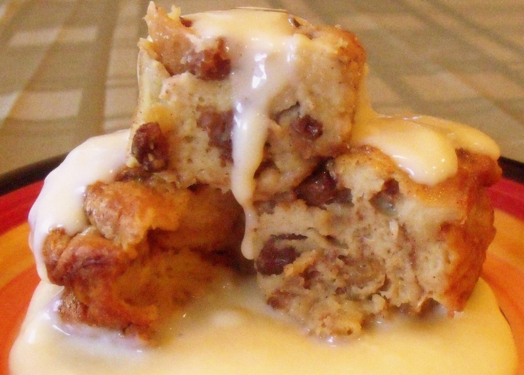 Steamed Bread Pudding
