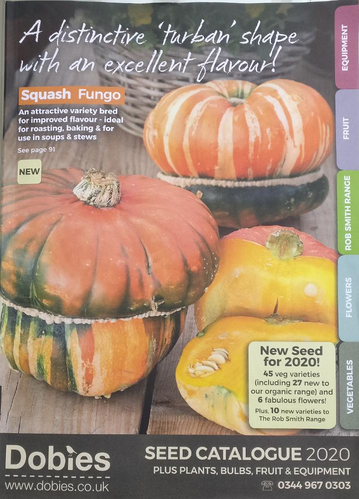 Dobies Seed Catalogue 2020