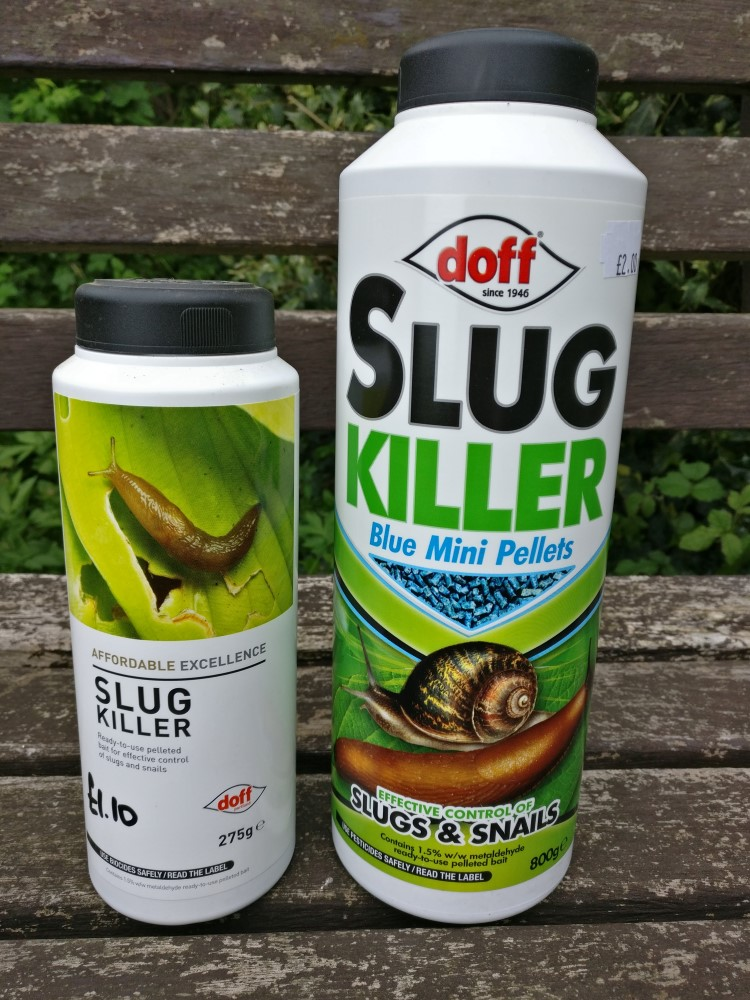 Slug pellets from Doff