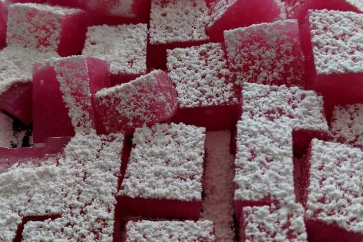 Home-made Turkish Delight