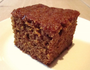 Rich ginger cake